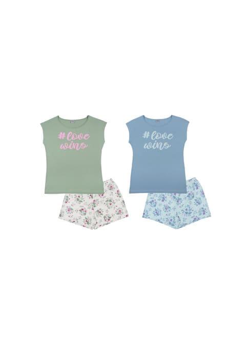 Пижама женская (футболка, шорты) FS 5090