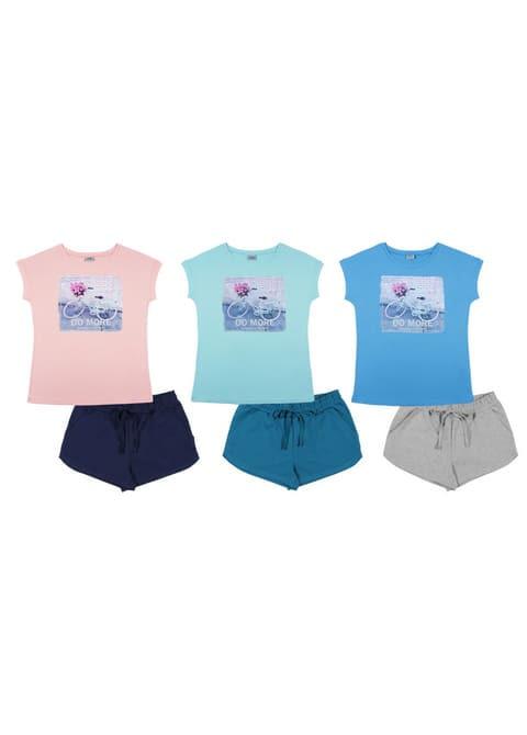 Комплект женский (футболка, шорты) FS 9145