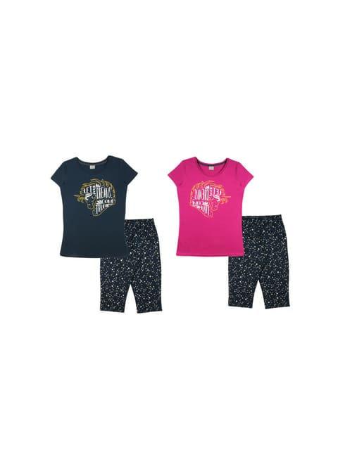 Комплект женский (футболка, бриджи)
