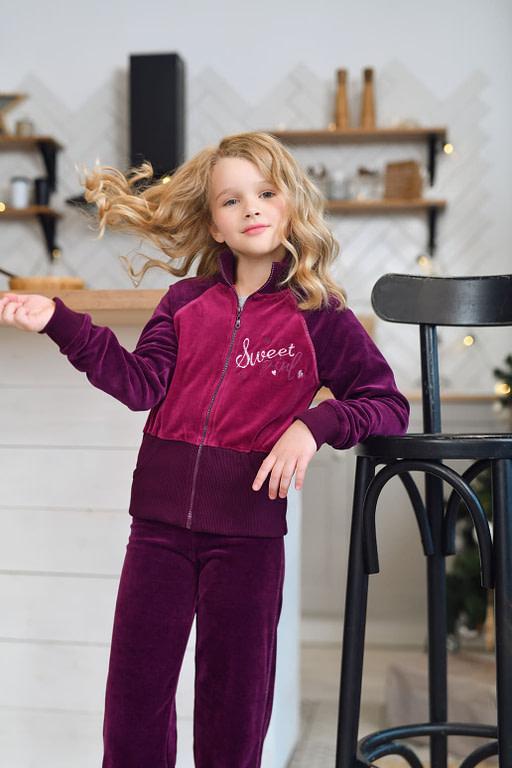 Комплект для девочки (куртка, брюки) CWJ 9181