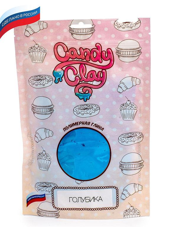 Масса для лепки Candy Clay. Полимерная кондитерская глина, голубика, 100гр 01-0208