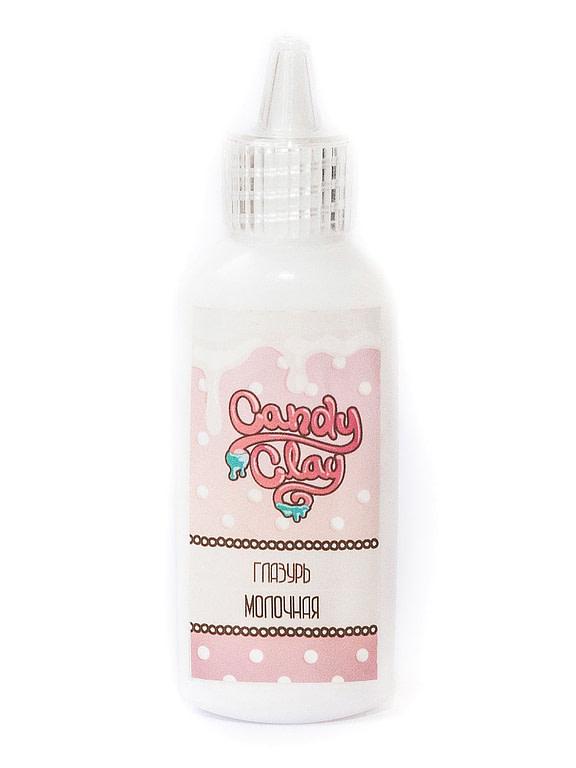 "Масса для лепки Candy Clay. Глазурь "" Молочная "", 22мл 07-0001"