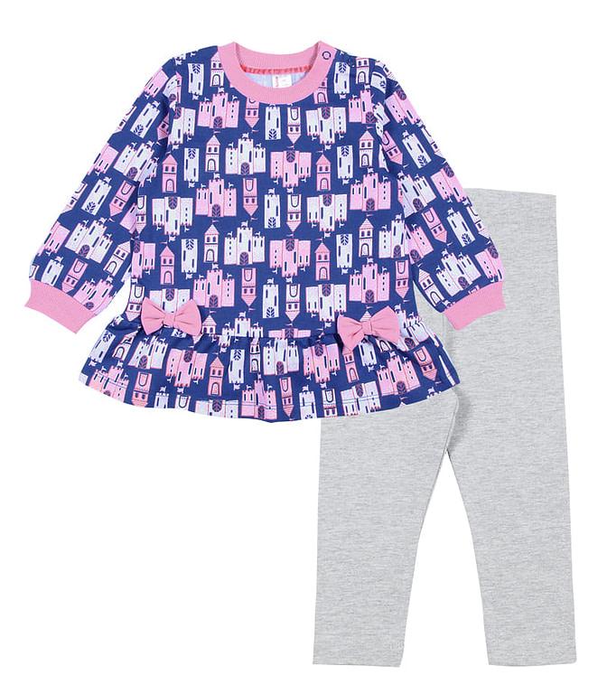 """Комплект для девочки (платье типа """"туника"""", брюки типа """"лосины"""") CWB 9772"""