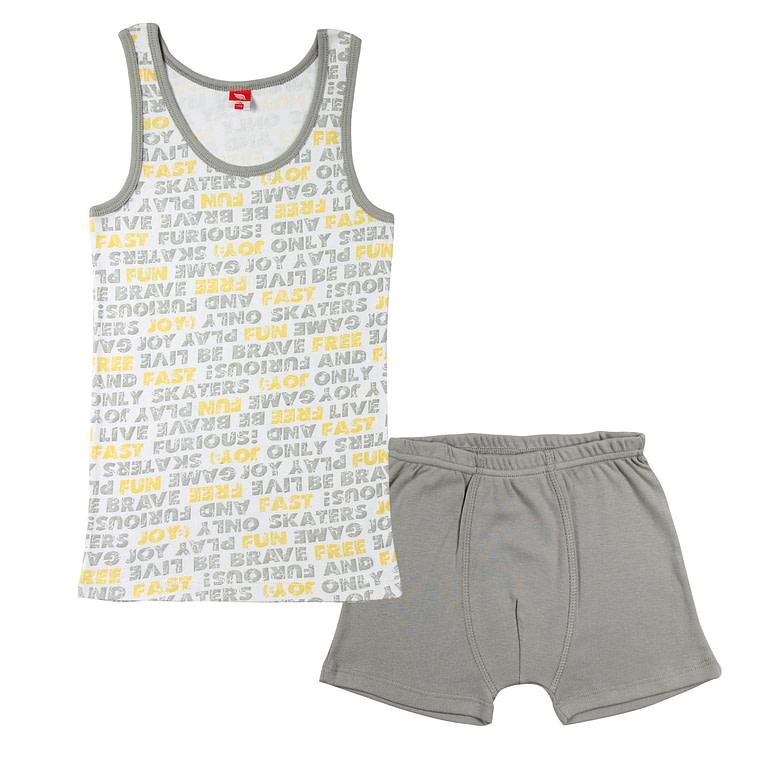 Комплект для мальчика (майка, трусы-боксеры) CAJ 3384