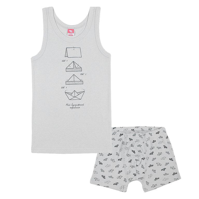 Комплект для мальчика (майка, трусы-боксеры) CAK 3492