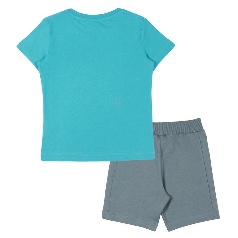 Комплект для мальчика (футболка, шорты) CAK 9874