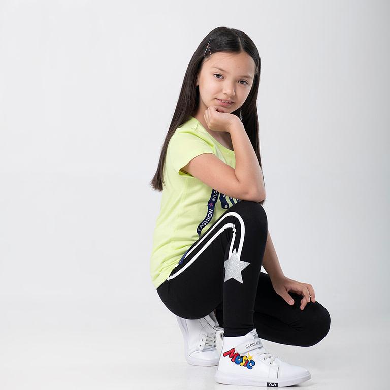 """Брюки модель """"лосины"""" для девочки CSJG 70041"""