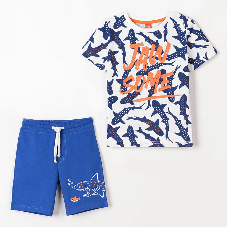 Комплект для мальчика (футболка, шорты) CSKB 90013