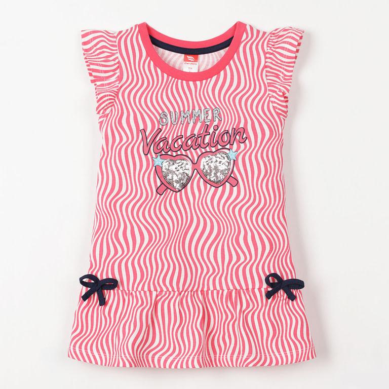 """Платье модель """"туника"""" для девочки CSKG 62701"""