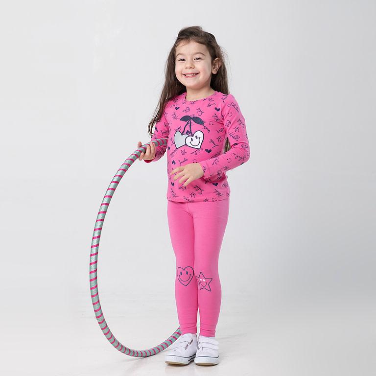 """Брюки модель """"лосины"""" для девочки CSKG 70002"""