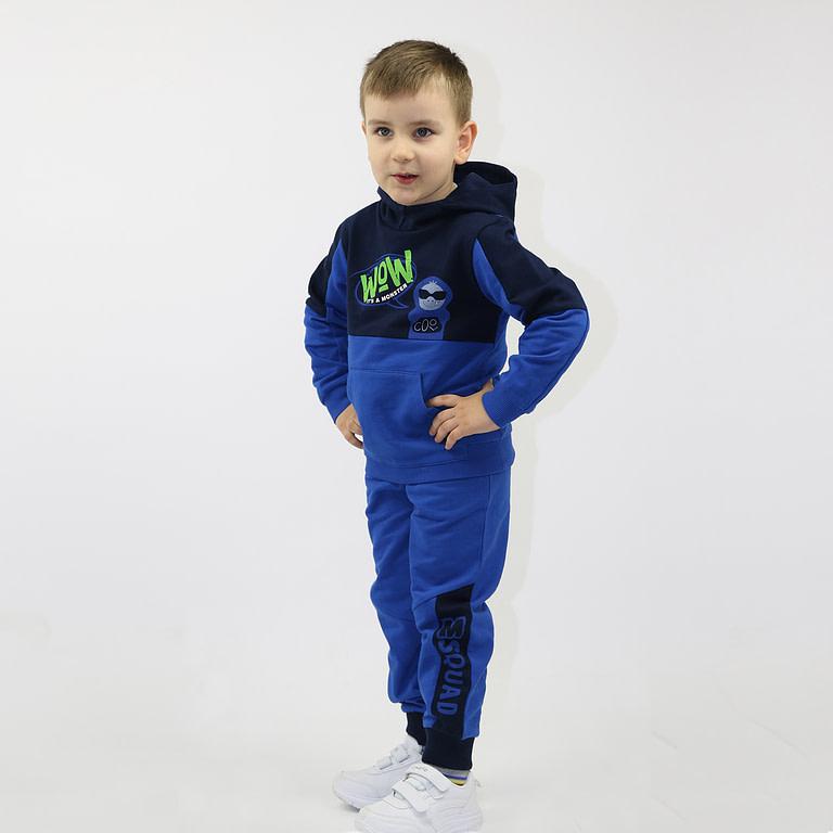 """Джемпер модель """"худи"""" для мальчика CWK 62496"""