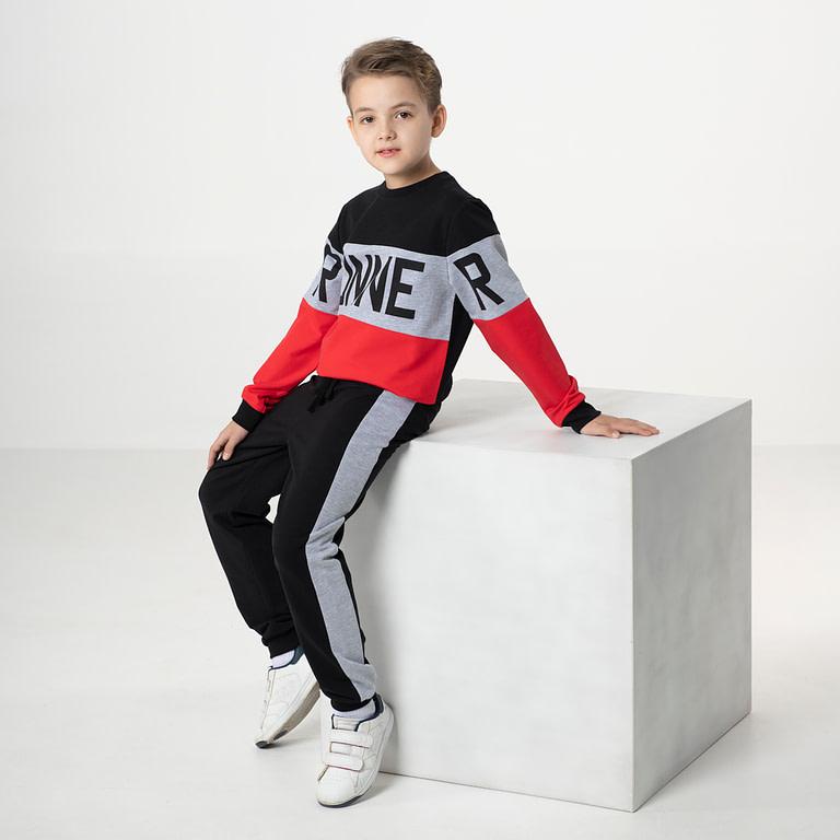 """Костюм для мальчика (джемпер модель """"свитшот"""", брюки)"""
